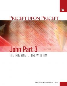 Image of cover for The Gospel of John Part 3 ESV PUP - The True Vine...One with Him (Chapters 12-21)