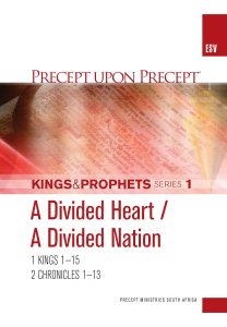 Image of cover for Kings and Prophets Part 1 ESV PUP - A Divided Heart…A Divided Nation (1 Kings 1-15 \ 2 Chr 1-13)