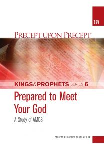 Image of cover for Kings and Prophets Part 6 ESV PUP - Prepared to Meet Your God (Amos)