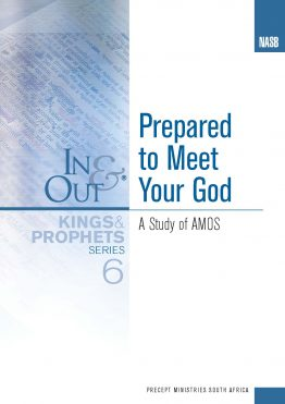 Image of cover for Kings & Prophets 6 In & Out - Prepared to Meet Your God (Amos)