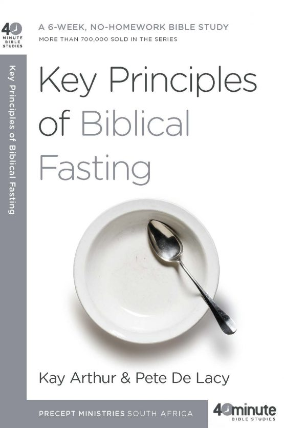 Image of cover for Key Principles of Biblical Fasting