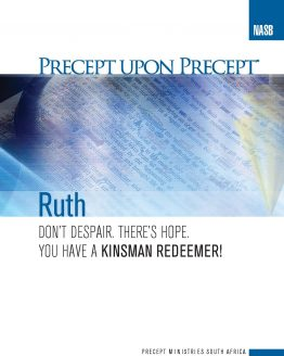 Image of cover for Kinsman Redeemer (Ruth) PUP - Don't Despair. There's Hope. You have a Kinsman Redeemer