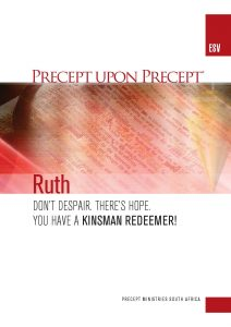 Image of cover for Ruth - Kinsman Redeemer ESV PUP - Don't Despair. There's Hope. You have a Kinsman Redeemer!