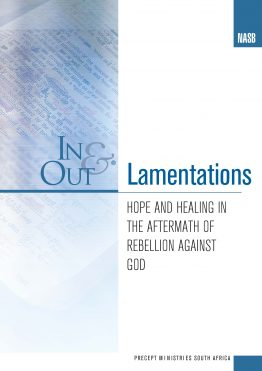 Image of cover for Lamentations In & Out - Hope and Healing in the Aftermath of Rebellion Against God