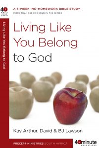 Image of cover for Living Like You Belong to God