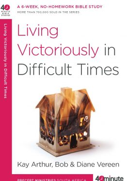 Image of cover for Living Victoriously In Difficult Times