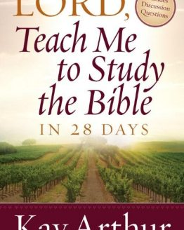 Image of cover for Lord, Teach Me to Study the Bible