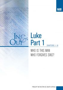 Image of cover for Luke Part 1 In & Out - Who Is This Man Who Forgives Sins? (Chapters 1-16)