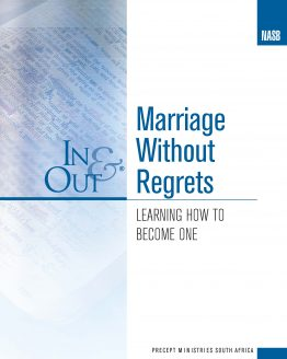 Image of cover for Marriage Without Regrets In & Out - Learning How to Become One