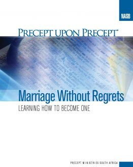 Image of cover for Marriage Without Regrets PUP - Learning How to Become One