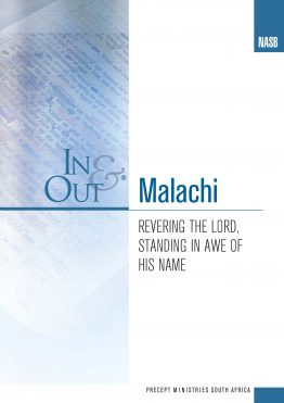 Image of cover for Malachi In & Out - Revering the Lord, Standing in Awe of His Name