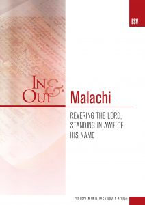 Image of cover for Malachi ESV In & Out - Revering the Lord, Standing in Awe of His Name