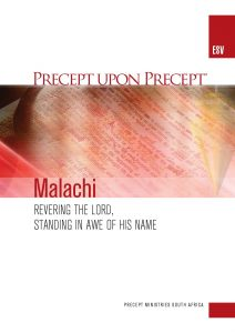 Image of cover for Malachi ESV PUP - Revering the Lord, Standing in Awe of His Name
