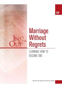 Image of cover for Marriage without Regrets ESV In & Out - Learning How to Become One