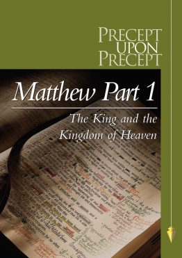 Image of cover for Matthew Part 1 PUP - The King and the Kingdom of Heaven (Chapters 1-13)