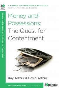 Image of cover for Money and Possessions: The Quest for Contentment