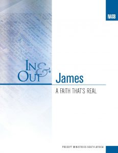 Image for cover of James In & Out - A Faith That's Real