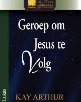 Beeld van die omslag vir die boek Geroep om Jesus te Volg (Lukas)