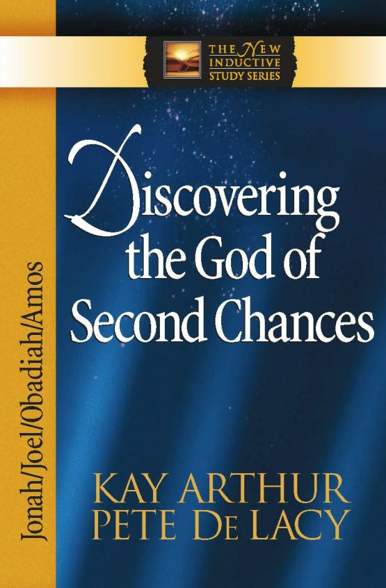 Image of cover for Discovering the God of Second Chances (Jonah\Joel\Obadiah\Amos)