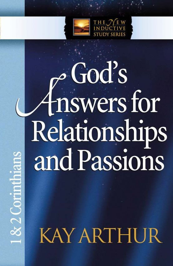 Image of cover for God's Answer for Relationships and Passions (1&2 Corinthians)