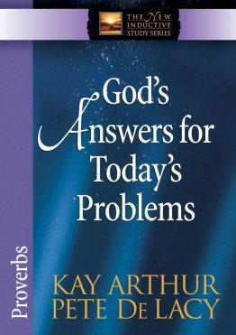 Image of cover for God's Answers for Today's Problems (Proverbs)