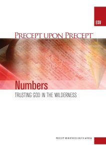 Image of cover for Numbers ESV PUP - Trusting God in the Wilderness