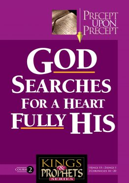 Image of cover for Kings and Prophets 2 PUP- God Searches for a Heart Fully His (1 Kings 15 - 2 Kings 1 \ 2 Chronicles 14 - 20)