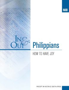 Image of cover for Philippians In & Out - How to Have Joy