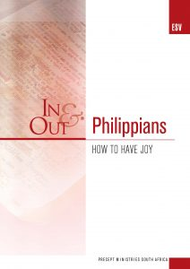 Image of cover for Philippians ESV In & Out - How to Have Joy