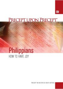 Image of cover for Philippians ESV PUP - How to Have Joy