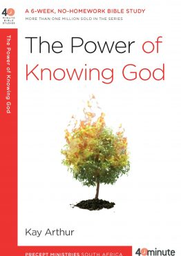 Image of cover for The Power of Knowing God