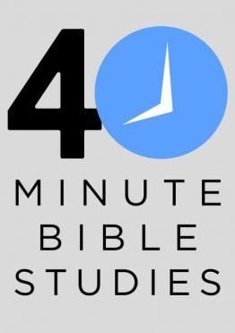 40 Minute Bybelstudies
