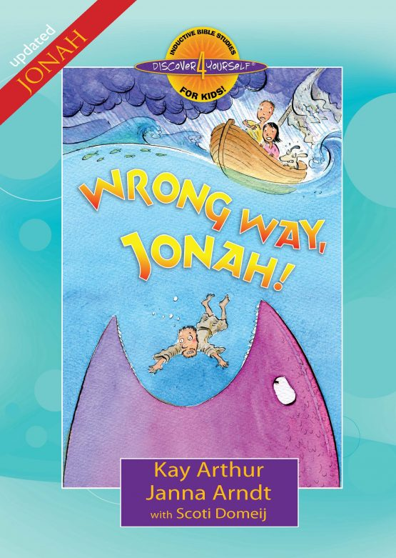 Image of cover for Wrong Way, Jonah ! - Student Workbook