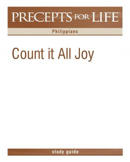 Image of cover for Precept for Life : Philippians - Count It All Joy (Study Guide)