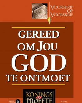 Beeld van die omslag vir die VOV Konings en Profete 6 - Gereed om Jou God te Ontmoet (Amos)