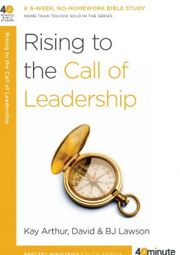 Image of cover for Rising to the Call of Leadership