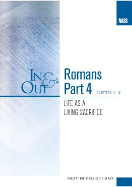 Image of cover for Romans Part 4 In & Out - Life as a Living Sacrifice (Chapters 12-16)