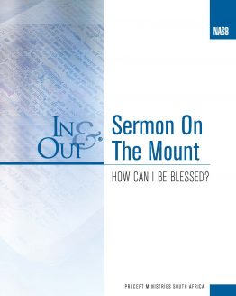 Image of cover for Sermon on the Mount In & Out - How Can I Be Blessed?