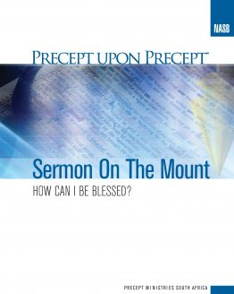 Image of Sermon on the Mount Precept Upon Precept NASB
