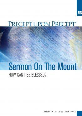 Image of Sermon on the Mount Precept Upon Precept NASB