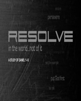 mage cover of Resolve Study Guide