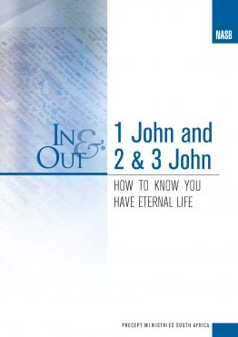 1 John And 2 & 3 John In and Out NASB Cover Image