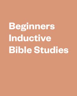 Beginner Bible Studies