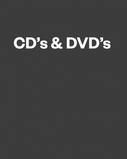 CD and DVDs