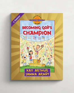 Becoming God's champion cover 21