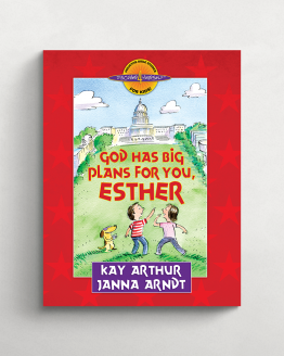 God has big plans for you Esther cover 21