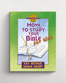How to study your Bible for kids cover 21