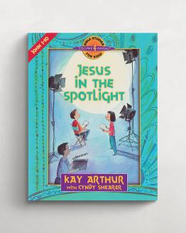 Jesus in the spotlight cover 21