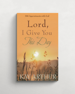 Lord I give you this day cover 21