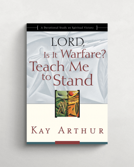 Lord is it warfare? Teach me to stand cover 21